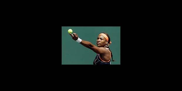 Serena au bout d'un combat acharné - La Libre