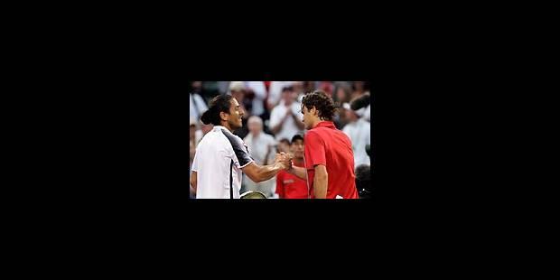 Canas stoppe à nouveau Federer - La Libre