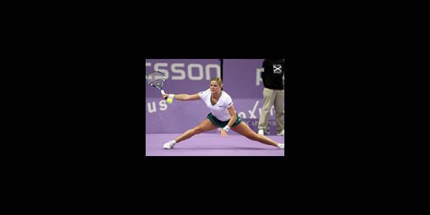 Kim Clijsters a frappé sa dernière balle - La Libre