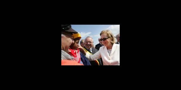 La Reine Paola assiste à la bénédiction de la mer - La Libre