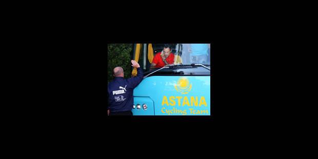 Le Tour retire son invitation à Astana