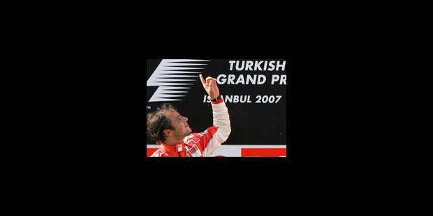 Felipe Massa double à Istanbul - La Libre