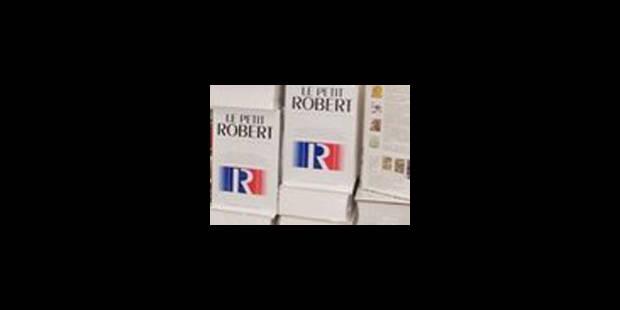 """""""Brol"""" et """"péket"""" dans le Petit Robert 2008"""