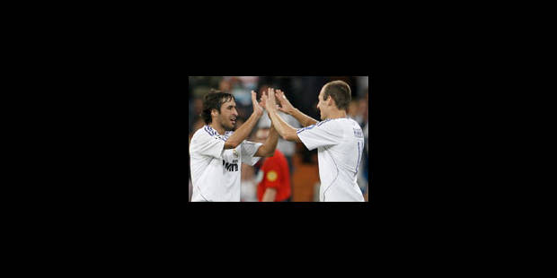 Raul pour la 300e du Real Madrid