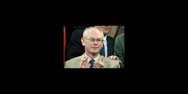 Van Rompuy, négociateur ? - La Libre