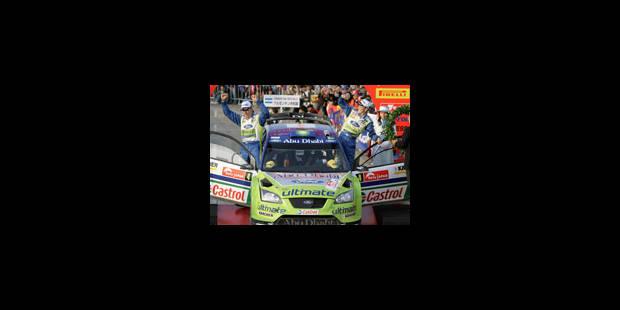 Victoire du Finlandais Hirvonen sur Ford - La Libre