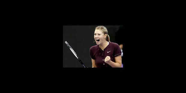 Maria Sharapova en finale - La Libre