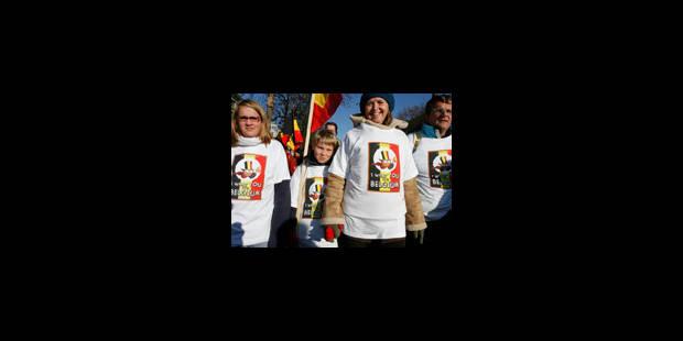 Bruxelles noir-jaune-rouge - La Libre