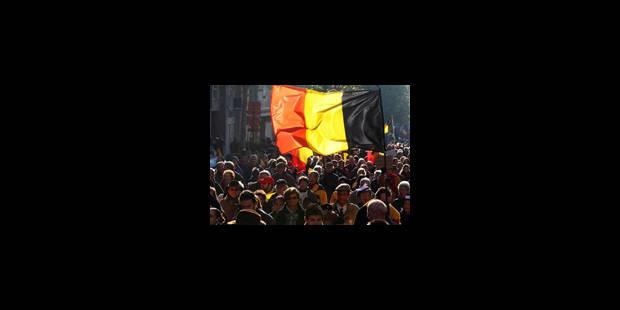 105.000 signatures pour une Belgique solidaire - La Libre