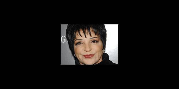 Liza Minnelli victime d'un malaise au cours d'un concert - La Libre