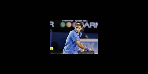 Roger Federer qualifié pour les 8e - La Libre