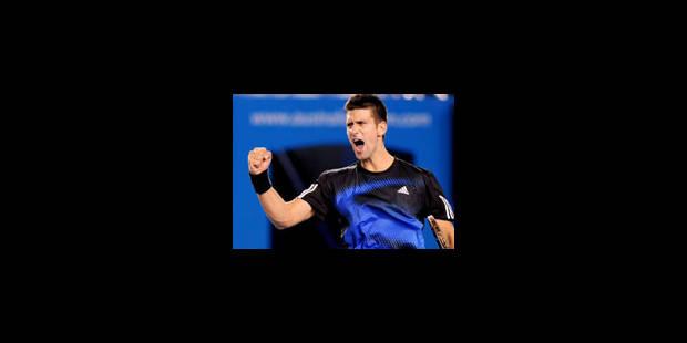 Djokovic élimine Hewitt en 1/8e finale