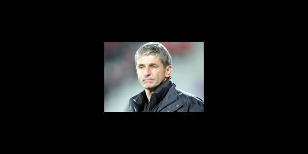 José Riga confirmé au poste d'entraîneur - La Libre