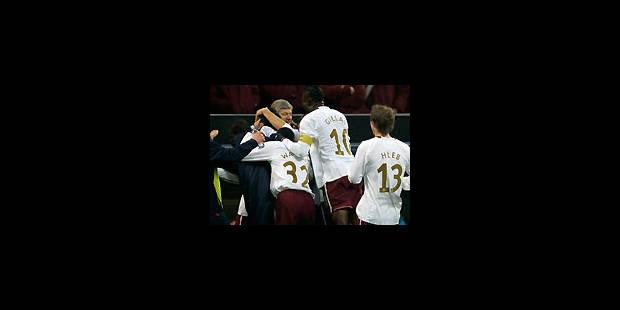 "Les ""Gunners"" flinguent l'AC Milan"