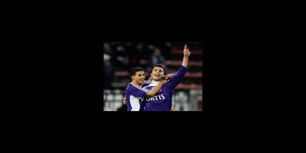 Anderlecht s'impose à Charleroi et revient à la 4e place