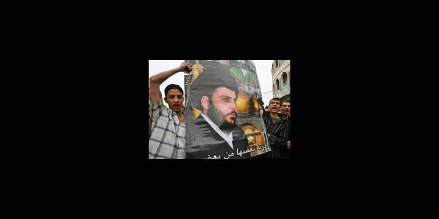 Le Premier ministre s'engage à poursuivre l'offensive anti-Sadr - La Libre