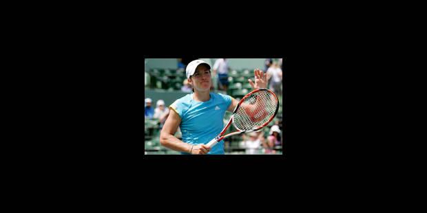 Justine Henin en 1/8èmes de finale - La Libre