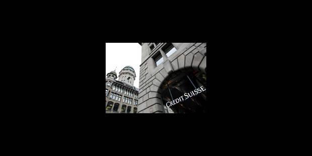 Après UBS, au tour de Crédit suisse - La Libre