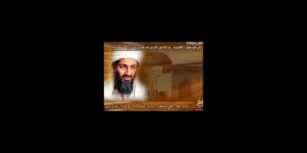Ben Laden s'en prend de nouveau à l'Occident - La Libre