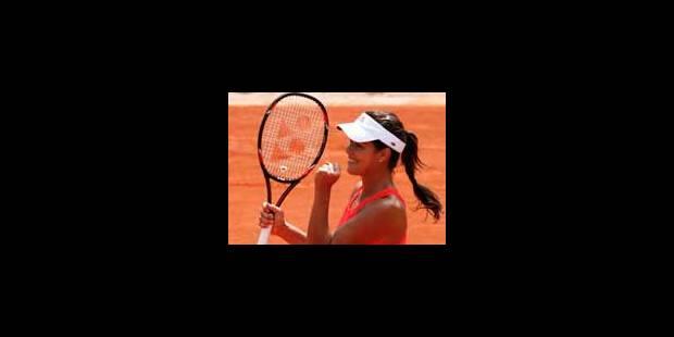 Ivanovic demi-finaliste à Roland Garros - La Libre