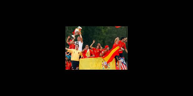 L'Espagne s'embrase pour ses héros