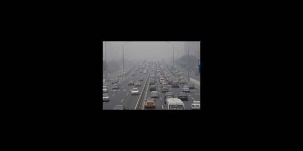 Pékin instaure la circulation alternée - La Libre