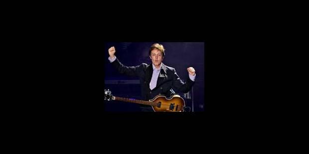 Des milliers de fans pour le concert gratuit de McCartney - La Libre