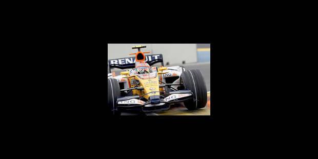 Alonso abandonne dès la fin du premier tour - La Libre