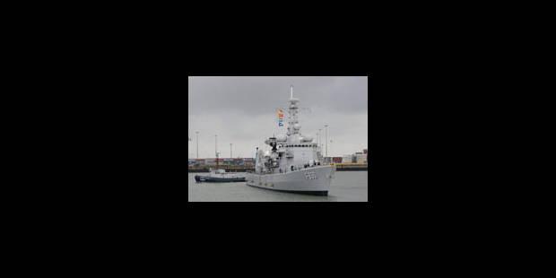 L'engagement militaire belge a désormais un volet maritime