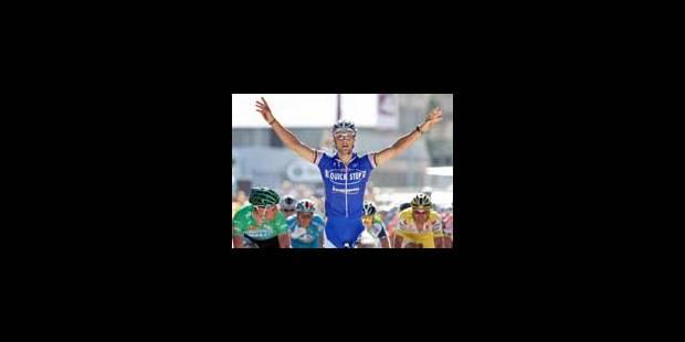 Boonen remporte la 3ème étape