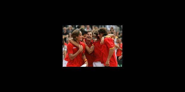 L'Espagne en finale