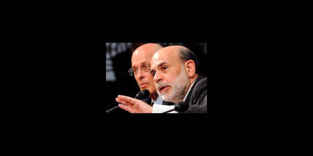 Bernanke et Paulson face au Congrès - La Libre