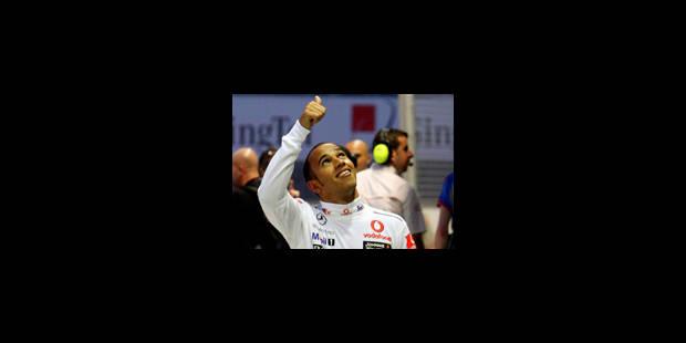 Hamilton le plus rapide aux essais - La Libre
