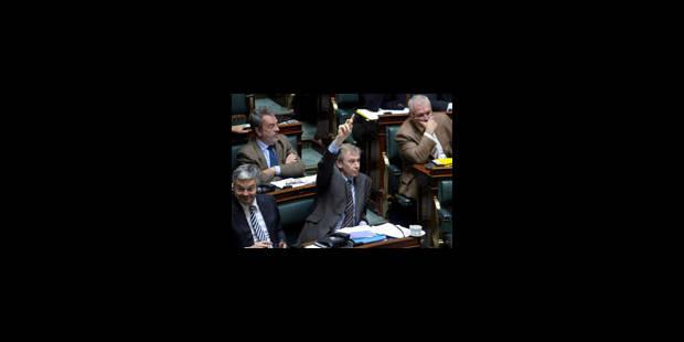 La Chambre vote la confiance au gouvernement Leterme I