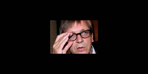 Verhofstadt teste sa grande popularité - La Libre