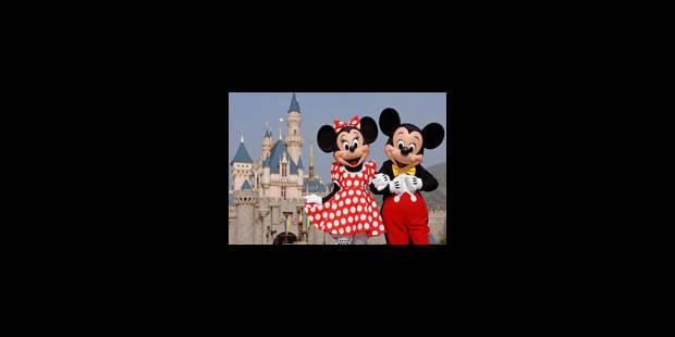 Le royaume de Mickey résiste à la crise - La Libre