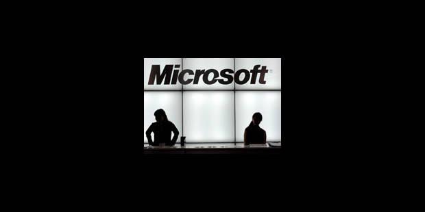 Microsoft : prévisions diminuées