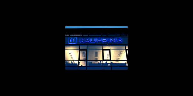 Kaupthing Belgique compte licencier - La Libre