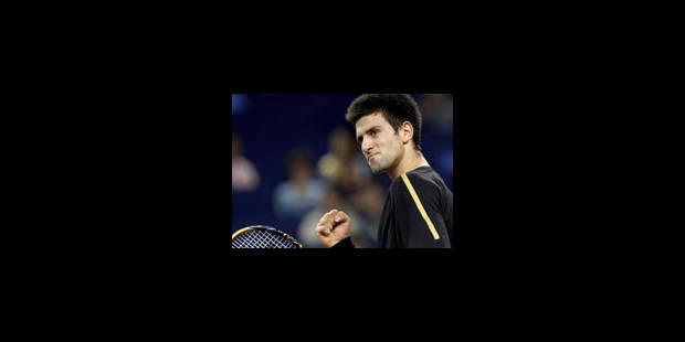 Première victoire pour Djokovic aux Masters - La Libre