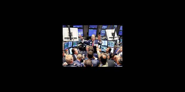 Les marchés financiers rechutent