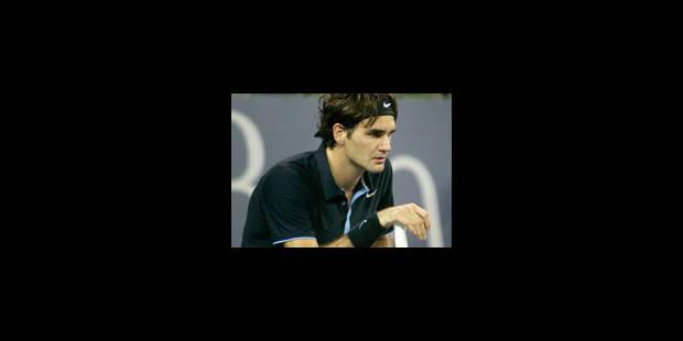 Chute des courts pour Federer aussi - La Libre
