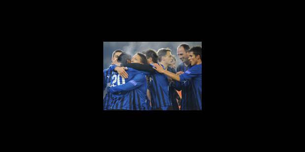 Le FC Bruges seul en tête - La Libre
