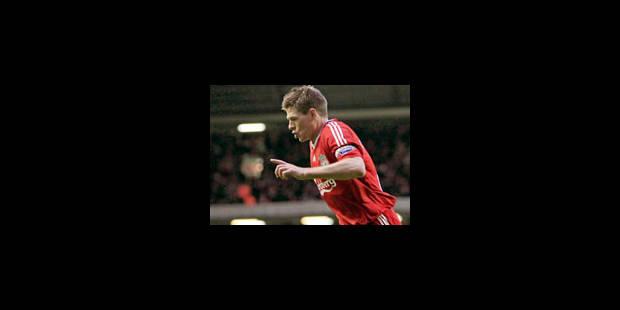 Steven Gerrard relâché ce matin - La Libre
