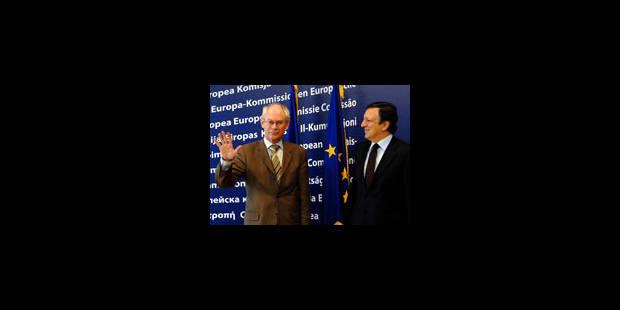 Herman Van Rompuy reçu par Barroso - La Libre