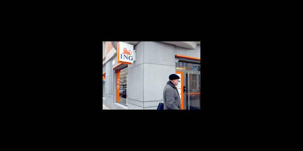 ING Belgique va supprimer plus de 100 emplois - La Libre