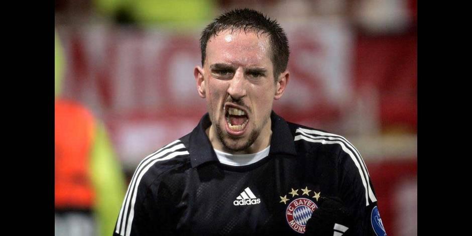 L'AC Milan offre 35 millions pour Franck Ribéry