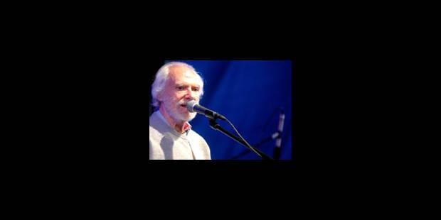 Georges Moustaki annule ses concerts - La Libre