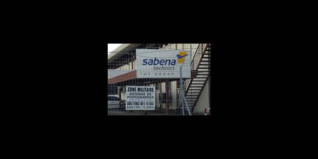 Près de 400 emplois menacés chez Sabena Technics - La Libre