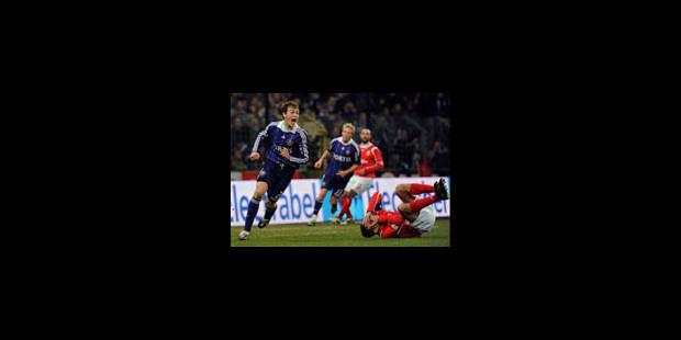 Mons rate le coche à Anderlecht