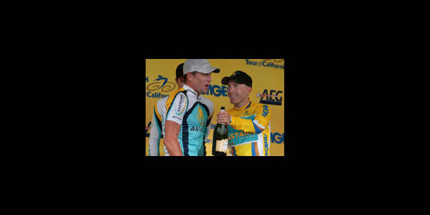 Lance Armstrong change son programme d'avant-Giro